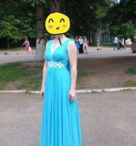 Платье в пол (на выпускной, вечер)