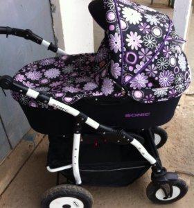 Детская коляска Sonic Verdi 3в1