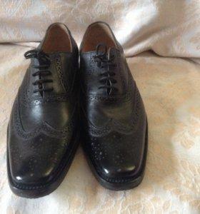 туфли 100%кожа класса люкс