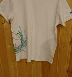 Отличная мужская футболка 48-50 фирменная Nokia