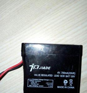 Аккумулятор 4V. 700 mah