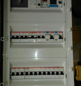 Услуги сборки электрощита.