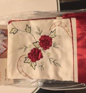Скатерть новая в упаковке, размер 130х180см