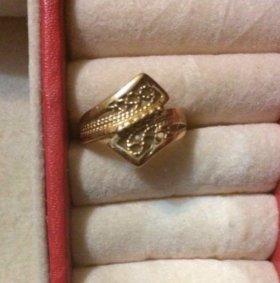 Золотое кольцо 585, 16 размер