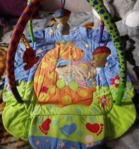 Музыкальный коврик для детей от 0 до 10 месяцев