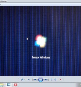 Видеокарта GeForce 9600 GS 512mb (с дефектом)