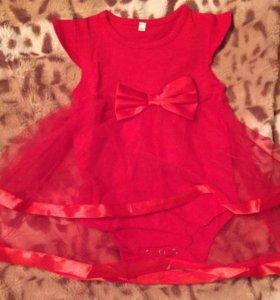 Платье-боди + повязка