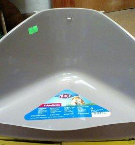 Угловой туалет для грызунов большой