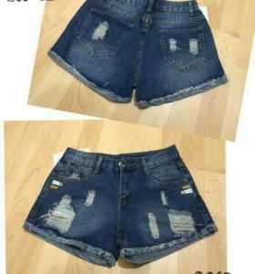 Новые джинсовые шорты. Размер 42