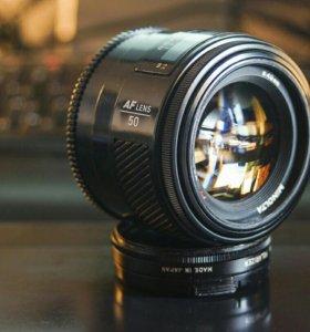Sony Minolta AF 50 mm f/ 1.4
