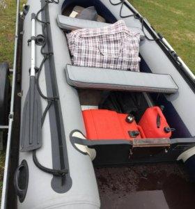 Лодка Пвх, мотор, прицеп