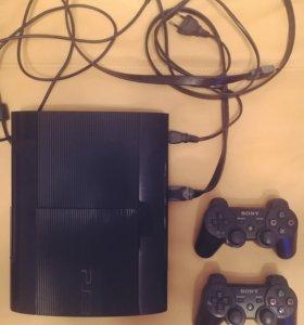 Sony PlayStation 3 + 8 игр PS3