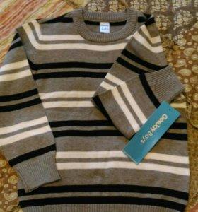 Рубашка,свитер,песочник