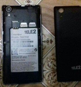 Три телефона Dexp, Tele2