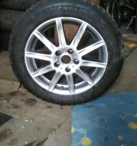 Зимние шины Мишлен на литьеR16 Опель
