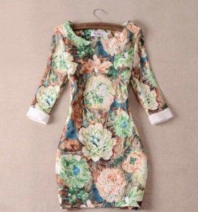 Платье под MaxMara новое с этикеткой