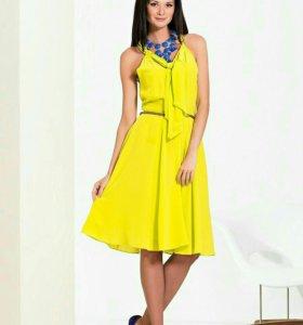 Платье, как новое,шелк