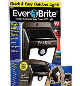 Светодиодный фонарь с датчиком движения