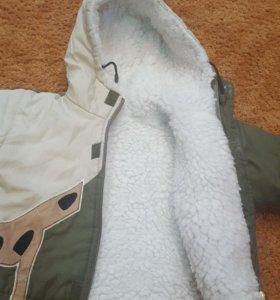 Зимняя куртка 86р