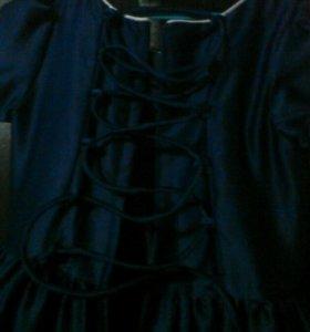 Платье карсетное