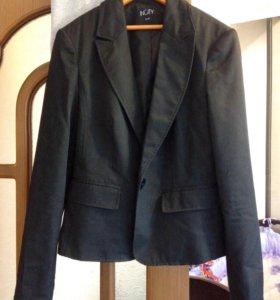 Офисный вариант : пиджак, рубашка, юбка