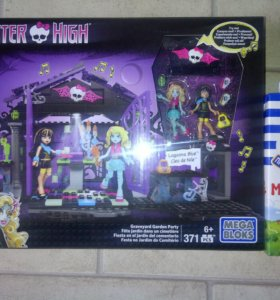 Monster high mega bloks новые
