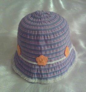 Шляпка-панама для девочки