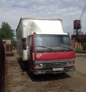 Тата 613 ех 2011г.в. мебельный фургон 110 т.км.