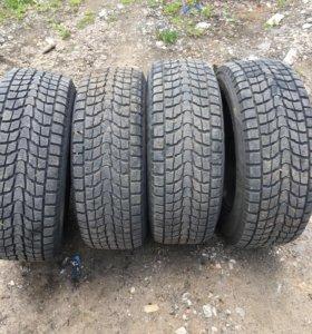 Зимние нешипованные шины Dunlop sj6
