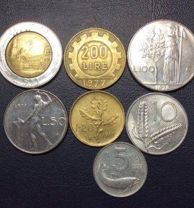 Комплект монет Италии