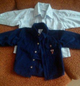 Рубашки 80-86