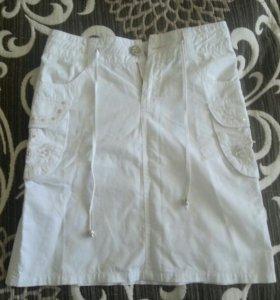 Летняя юбка для девочки 146