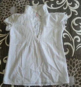 Рубашка летняя для девочки 8-9 лет