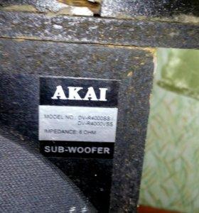 Акустическая система акай от домашнего кинотеатра