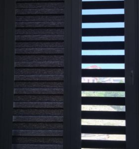 Зебра шторы
