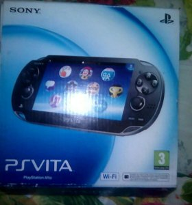 Playstation Vita (PS Vita) +Игры