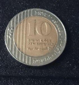 Монета Израиля