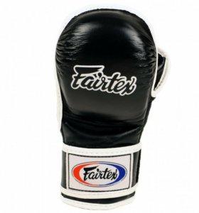 Перчатки для ММА НОВЫЕ Fairtex FGV 15, чёрные.