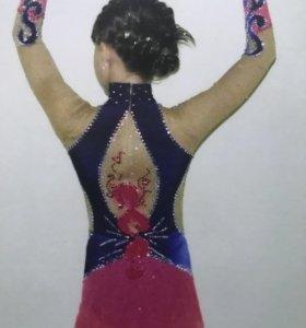 Костюм для художественной гимнастики и фигурного к