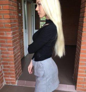 Замшевая юбочка