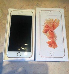 IPhone 6s 64gb розовое золото