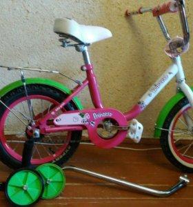 Велосипед для маленьких принцесс