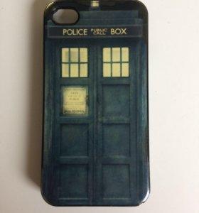 Чехол на iPhone 4/4s Police box