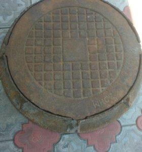 Люк канализационный (дорожный)