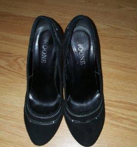 Туфли из нат.замши