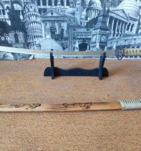 Самурайский декоративный меч