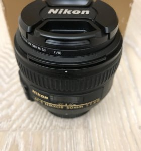 Объектив Nikon 50 мм 1,4 G