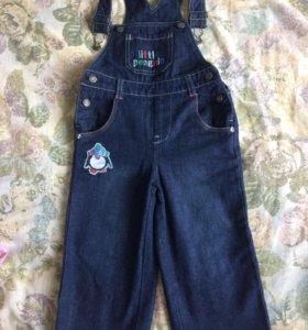 Комбинезон джинсовый на мальчика