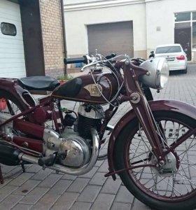 Мотоцикл Триумф- TWN-350, 1939 года