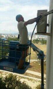 Монтаж установка сплит-систем кондиционеров